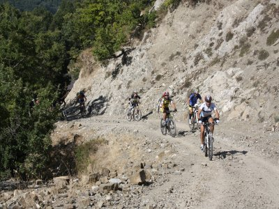 Grantour in mountain bike Parco del Pollino