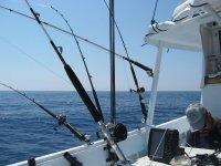 tutto pronto per pescare