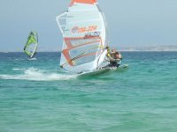 Divertimento sul windsurf