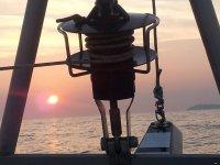 sailing boat in catamarano
