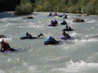 Galleggiando nel fiume