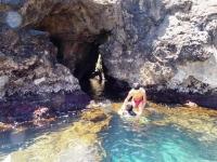 Visita ad una grotta marina