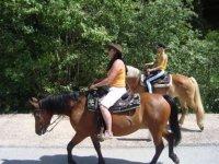 Equitazione nel verde
