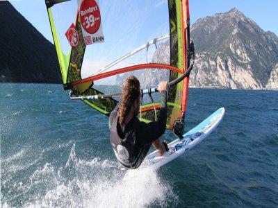 Sailing Du Lac Windsurf