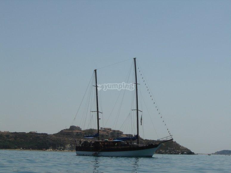agosto in barca