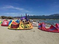 I kite a terra