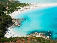 La spiaggia di Porto Giunco 