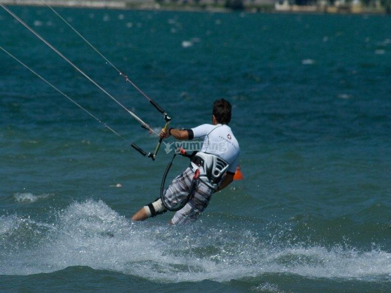 kite in lago