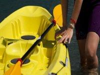 Una delle nostre canoe