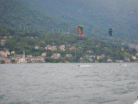Kiters sul Lago di Como