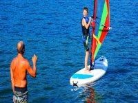 La gioia che da il windsurf
