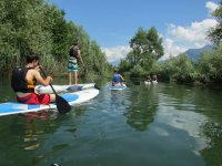 Escursione in paddle