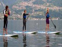 Paddle surf sul Lago di Como