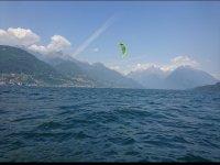 Kite sul lago