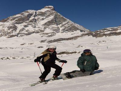 Sciare a Cervinia con maestro di sci