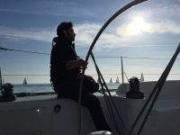 Sole e barca