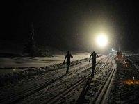 Fondo notturno all Alpe Siusi