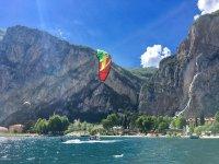 Una splendida giornata per il kitesurf!