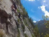 scalando la parete
