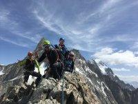 arrampicata in montagna