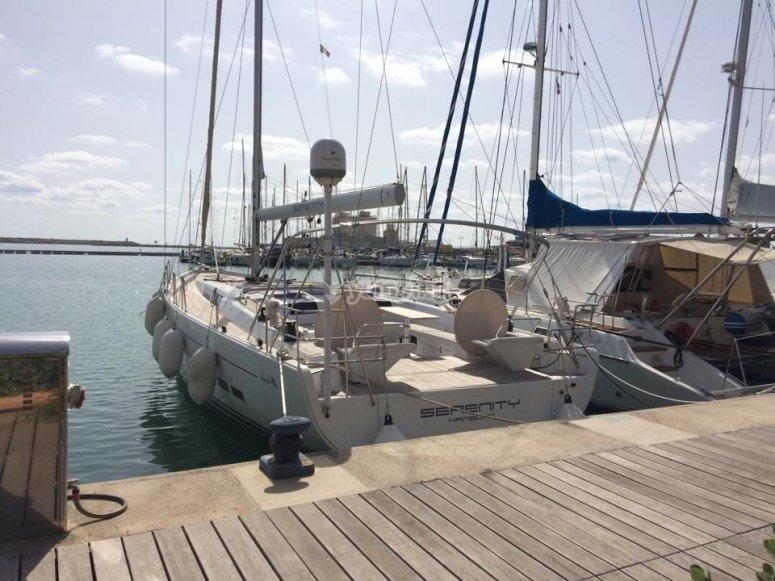 Nel porto di Palermo