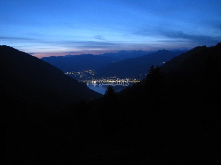 Tramonto sul Lago Iseo