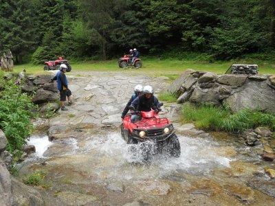 Escursione in quad doppio con cena Lago d'Iseo