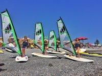 Corsi kids di windsurf
