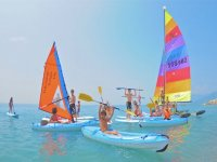 Lezioni di canoa e vela