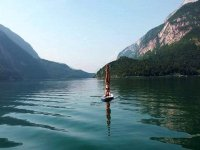 Yoga in SUP