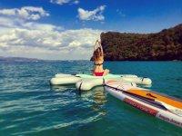Yoga in mezzo al Lago di Garda
