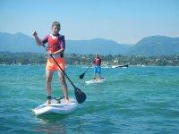 Corsi e lezioni di paddle surf