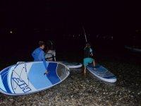 Paddle in notturna