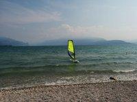 Divertimento sulle acque del Lago di Garda