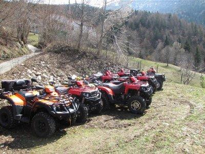 Escursione Quad Singolo con Cena Lago d'Iseo