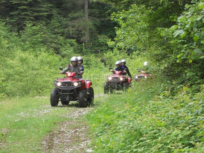 Avventurose escursioni in quad