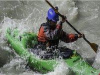 Kayak school in Morgex