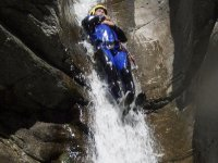 Canyoning for everyone along the Chalamy