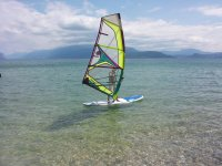 Divertimento con il windsurf