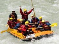 Gruppo di rafting
