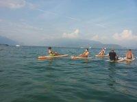 Allenamento al lago