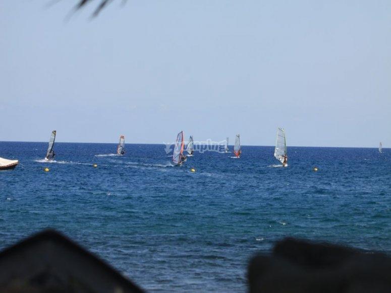 Corso di windsurf con soggiorno