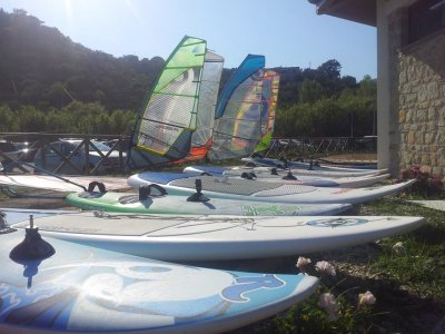 Windsurf course and B&B in Cilento