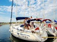 La barca a vela