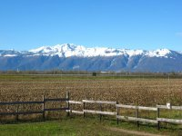 il panorama dal ranch
