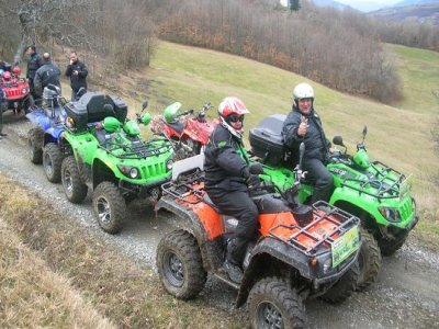 Mezza giornata in quad al Monte Santa Giulia