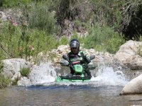 quad in acqua