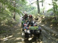 in quad appennino modenese