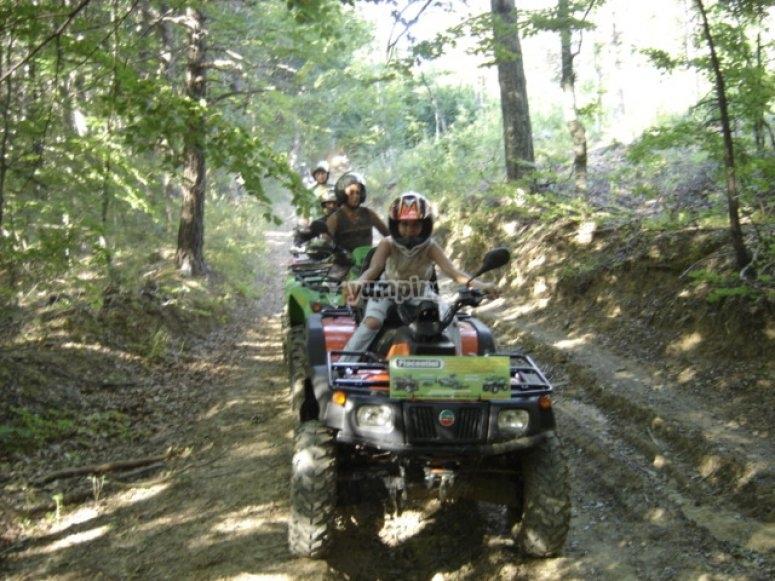 Escursioni quad Cimone