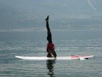 In equilibrio sul paddle